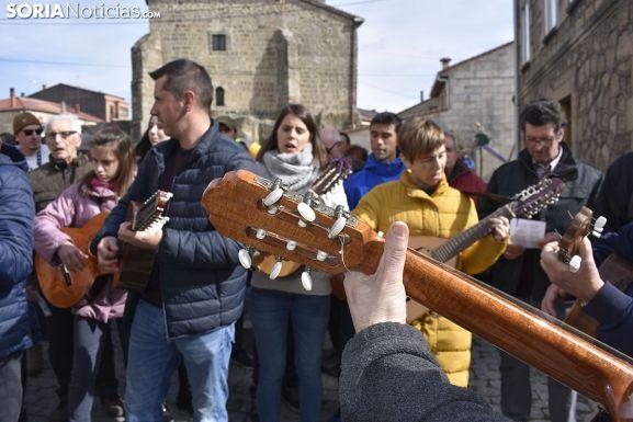 Sale la Ronda en Duruelo por Carnaval