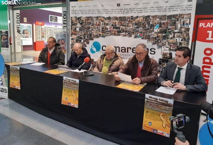 Rueda de prensa de presentación del evento.