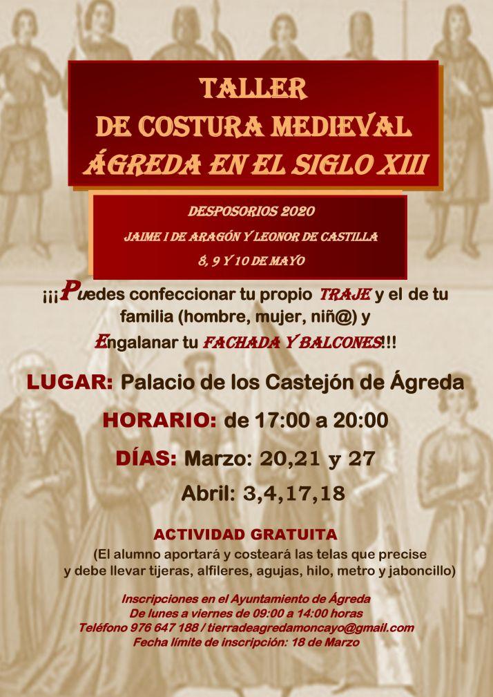 Foto 2 - Ágreda se prepara para los Desposorios de Jaime I y Leonor de Castilla