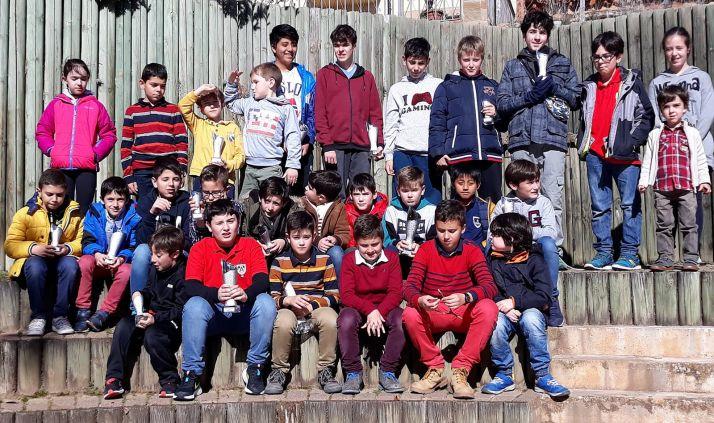 Los participantes, tras el torneo. /CDACAN
