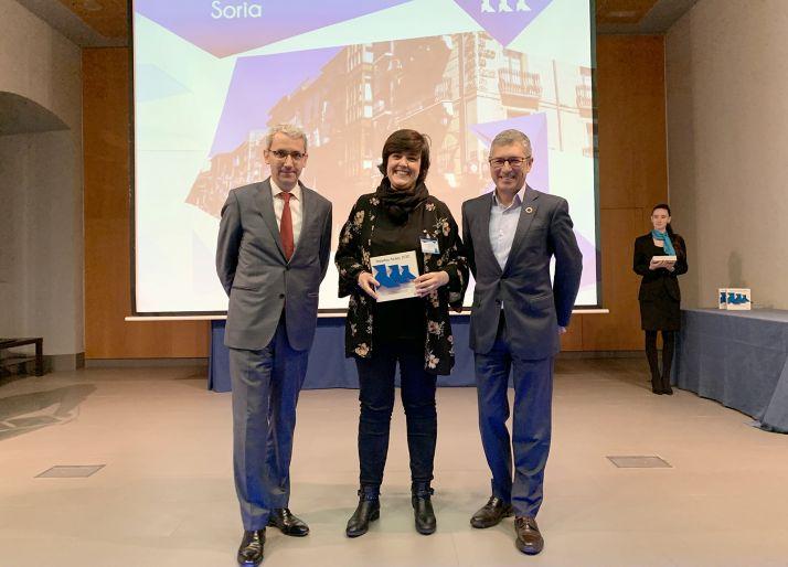 Ana Alegre, con las Pajaritas Azules para la capital.