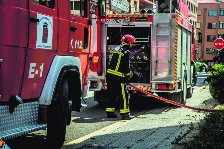 Foto 1 - Los bomberos actuaron 576 veces durante 2019