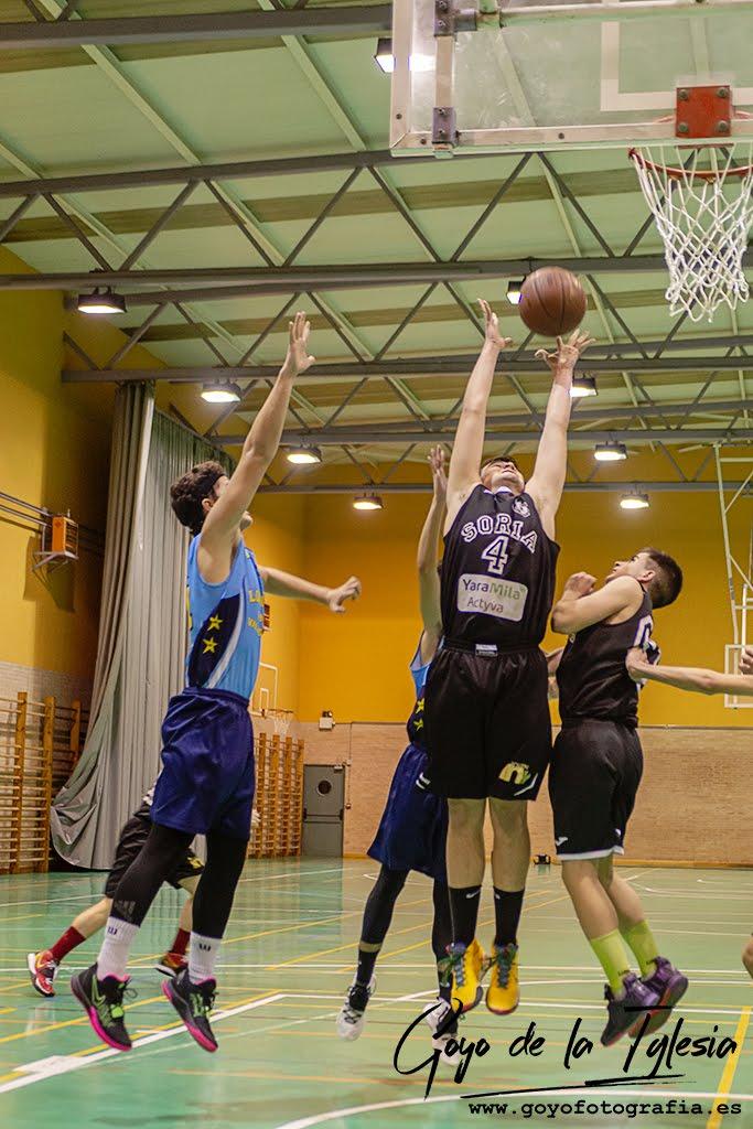 Foto 1 - Jornada de impás para el Club Soria Baloncesto