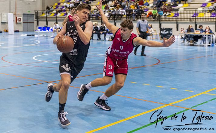 Un partido del club de basket en el San Andrés. /Goyo de la Iglesia