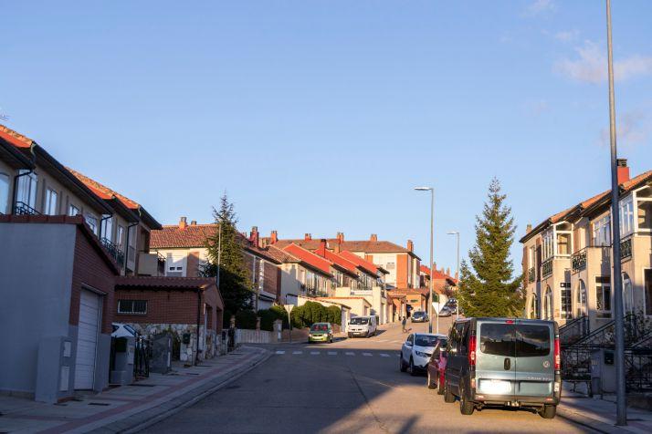 Calle de la urbanización de las Camaretas