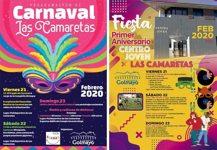 Foto 1 - Todo preparado para los carnavales en Camaretas