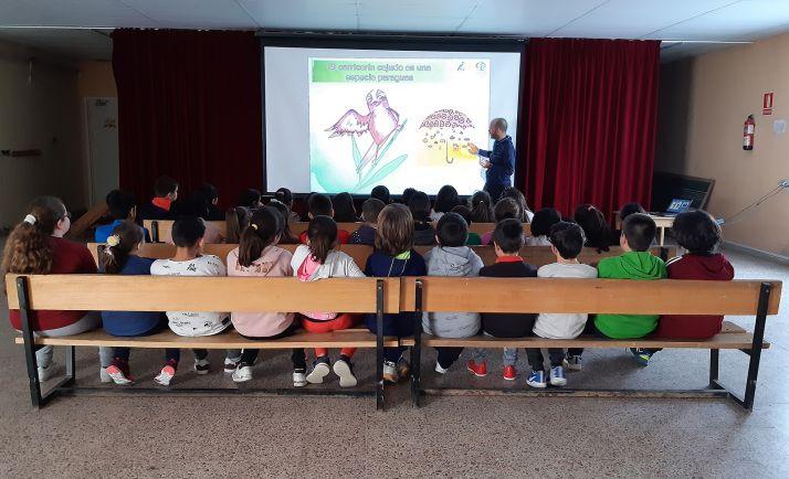 Una de las sesiones docentes impartidas.