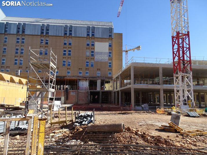 Las obras en el Santa Bárbara avanzan pendientes de la radioterapia