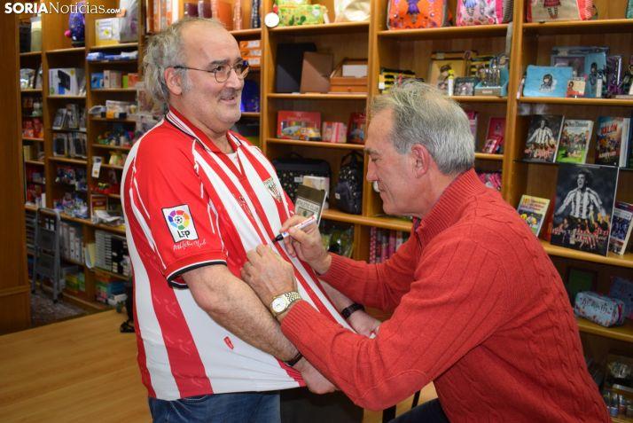 Andoni Goikoetxea: 'Cada vez que vengo a Soria soy feliz'