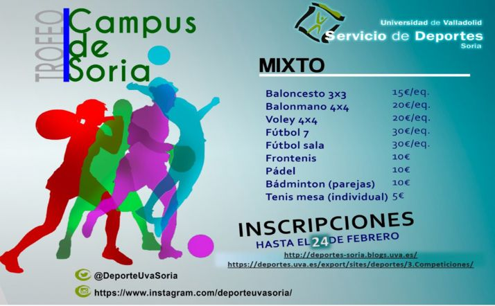 Foto 1 - Las inscripciones para el trofeo Campus de Soria, hasta el 24