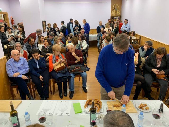 Semifinal de El Mejor Torrezno del Mundo en Madrid.