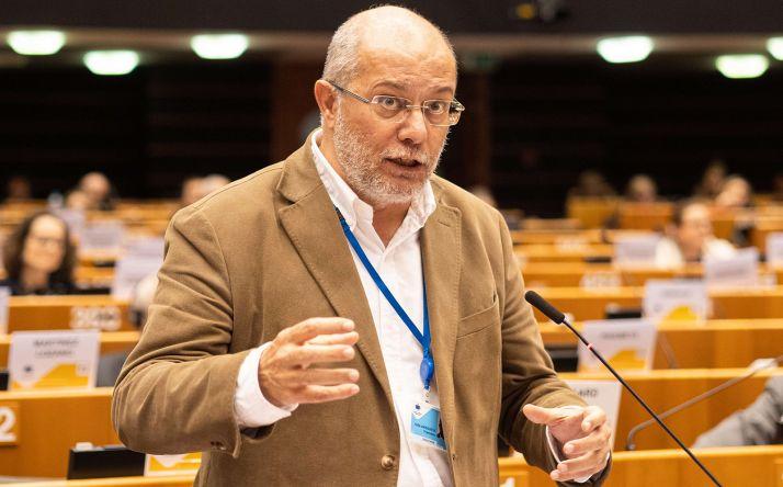 Igea, durante su intervención en Pleno del Comité de las Regiones. /Jta.