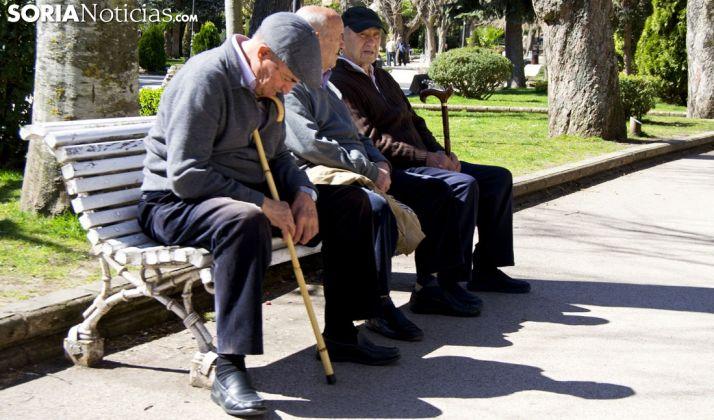 Pensionistas sorianos.