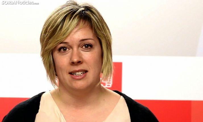 Judith Villar, procuradora del PSOE por Soria. /SN
