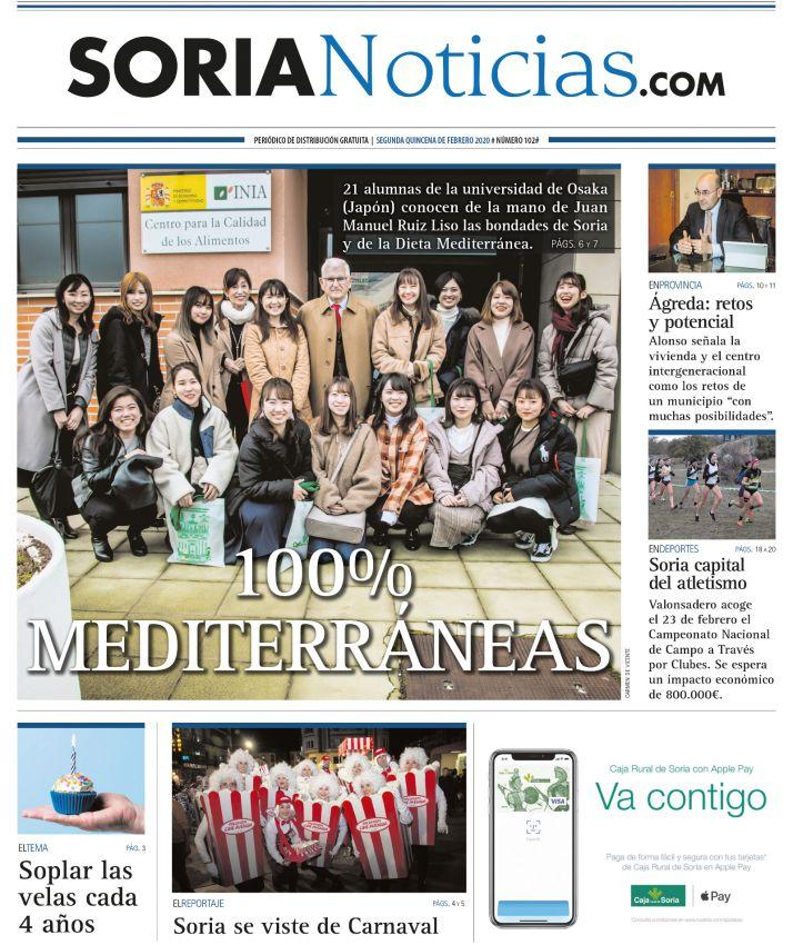 Portada del nº 102 de Soria Noticias