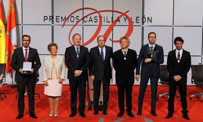Imagen de los premiados en 2018.