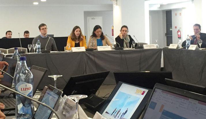 Intervención de la SSPA en Portugal.