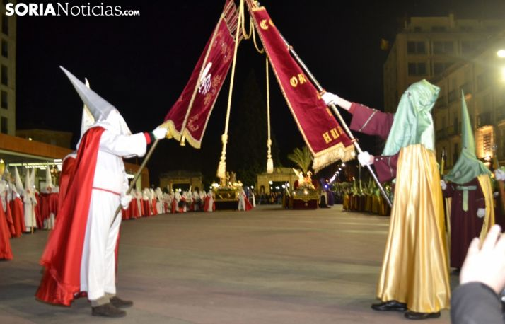 Una imagen de la Semana Santa soriana. /SN