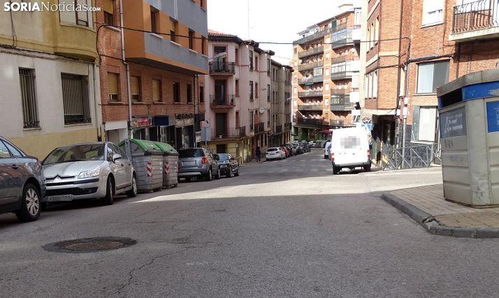 Imagen de la calle Cortes este mediodía. /SN