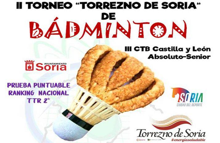 Foto 1 - Este sábado, el II Torneo Torrezno de Soria de bádminton