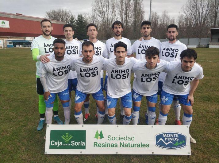 Foto 1 - El Almazán gana por la mínima (1-0) al Santa Marta