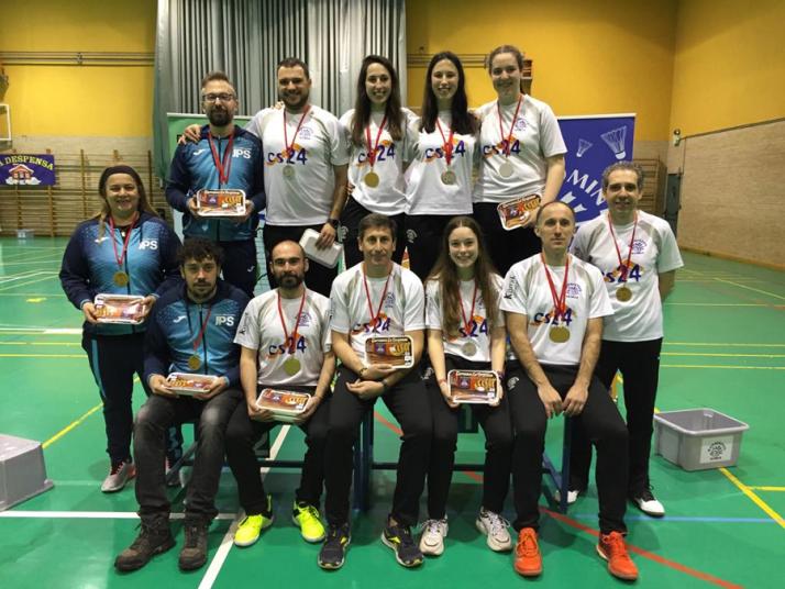 II Torneo del Torrezno de Bádminton