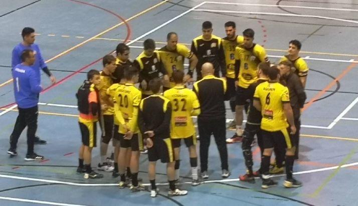 BM Soria tras la derrota en Salamanca
