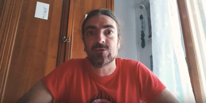 Fotograma de un vídeo de Carlos la Orden.