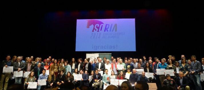 GALERÍA: Soria premia a los mejores deportistas de 2019