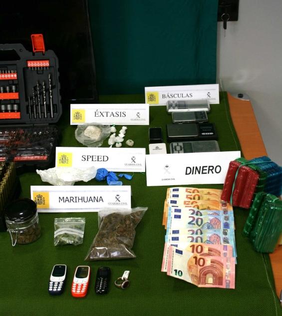 Foto 2 - La Guardia Civil detiene a un joven como presunto autor de robos cometidos en la provincia