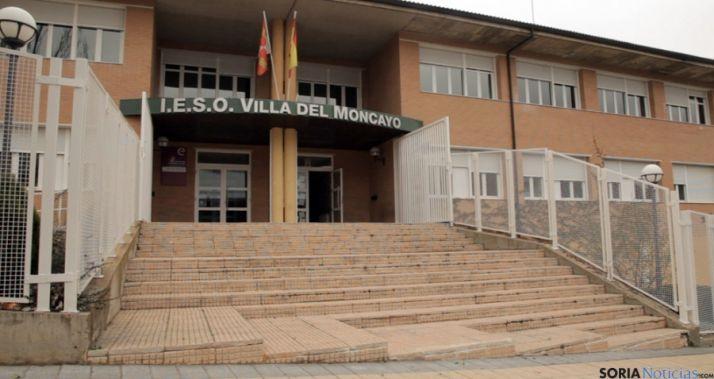 IES Villa del Moncayo en Ólvega, Soria.