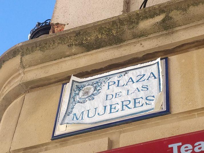 Foto 1 - Soria ya tiene oficialmente su plaza de las Mujeres