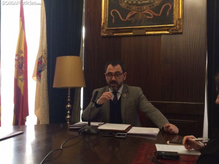 El teniente de alcalde, Javier Muñoz