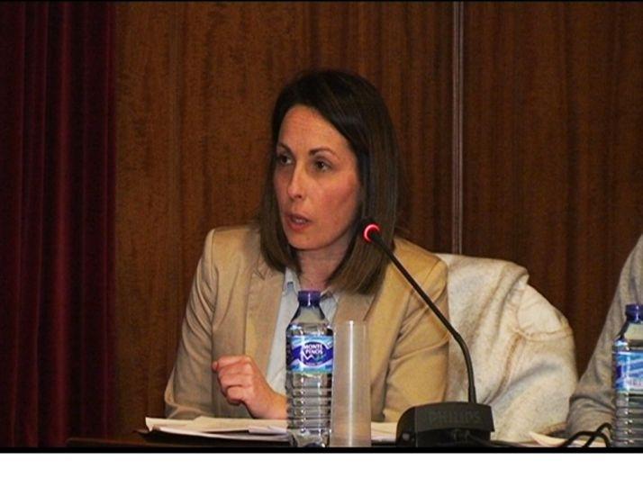 Mónica MAchín, concejala del PP