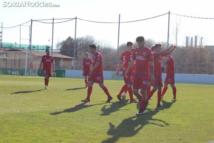 El equipo soriano, Numancia B juega en la tercera división