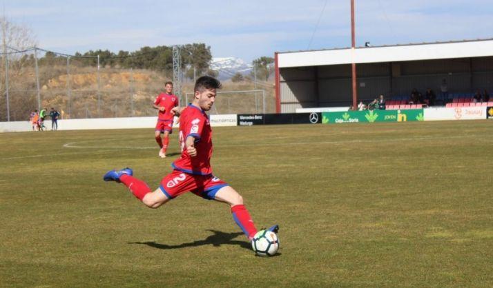 El Numancia B se coloca tercero tras una gran victoria ante el Real Ávila en casa