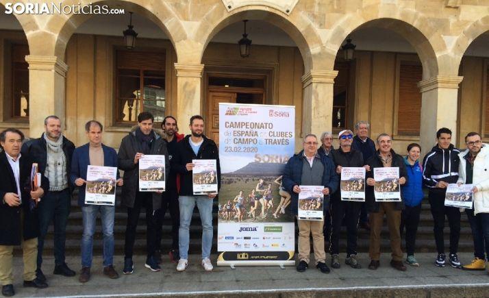 Presentación del Campeonato de España de Campo a Través por Clubes