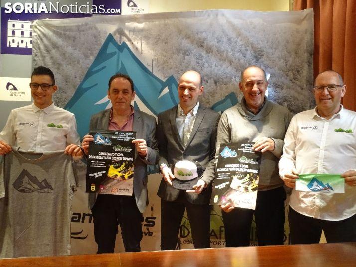 Presentación del Campeonato de CAstilla y León de Snow Cross