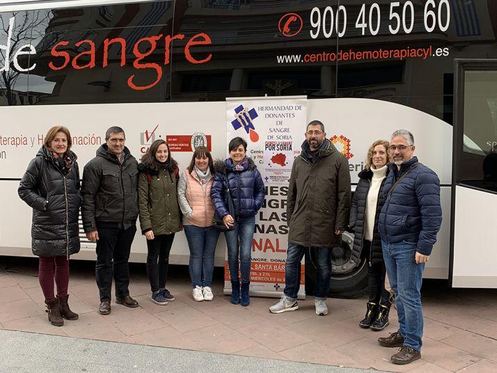 Foto 1 - 62 donantes 'dan la sangre por Soria'