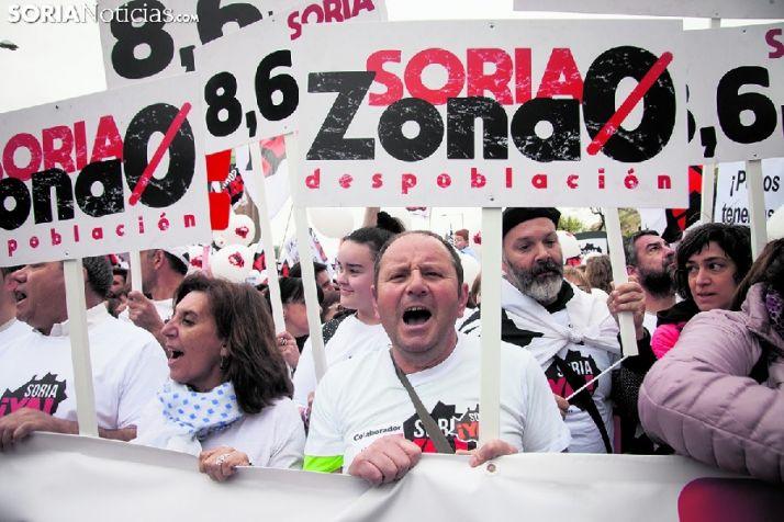 Foto 1 - Soria ¡YA! solicita una reunión con la Ministra Teresa Ribera para tratar el reto demográfico