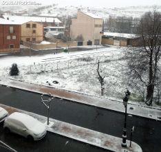 Imagen del casco urbano de Ágreda a las 08:30 horas de este martes. /SN