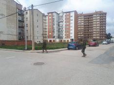 Foto 3 - Pontoneros del batallón de Monzalbarba, en Almazán