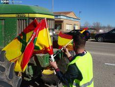 Tractorada en Soria