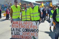 Foto 2 - GALERÍA: Masiva manifestación de agricultores y ganaderos en Soria