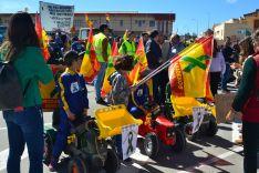 Foto 4 - GALERÍA: Masiva manifestación de agricultores y ganaderos en Soria