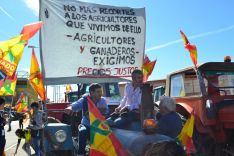 Foto 9 - GALERÍA: Masiva manifestación de agricultores y ganaderos en Soria
