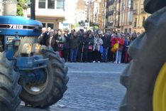 Una imagen de la tractorada de este miércoles. /SN
