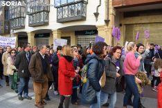 Manifestación 8M 2020 en Soria.