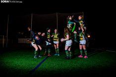 Equipo de rugby femenino Ingenieros Soria C.R. /Carmen de Vicente