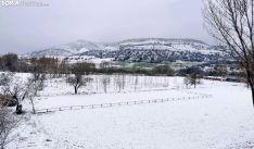 Una imagen de los alrededores de Fuentetoba este martes. /SN